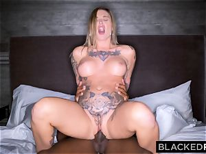 BLACKEDRAW Real Texas gf cheats with black guy at the motel after party