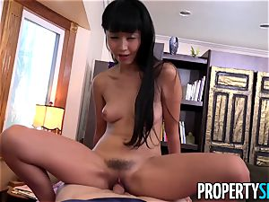 PropertySex manager drills superb Tenant chinese Marica Hase