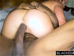 BLACKEDRAW wifey enjoys the World's thickest big black cock in motel apartment