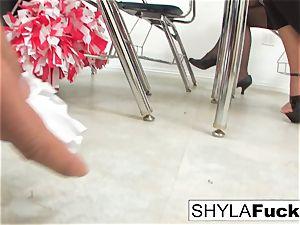 student Shyla Gets pounded
