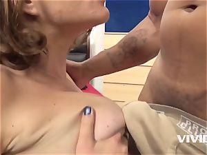 Krissy Lynn Gets A rock-hard big black cock In Her gash