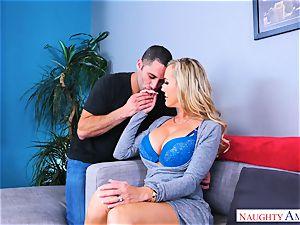Brandi love gigantic hooter cougar pulverizes man