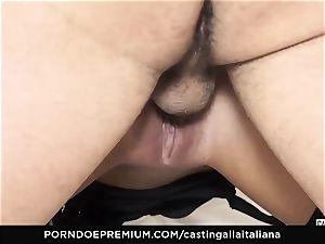 casting ALLA ITALIANA - crazy intercourse with local first-timer