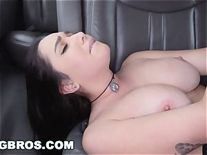 BANGBROS - large baps porn industry star Karlee Grey on penetrate Bus