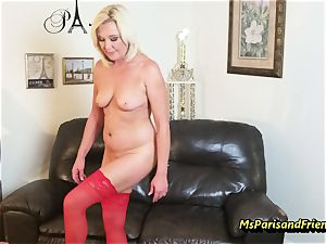 pack Up the Strippers wide open snatch with Ms Paris Rose
