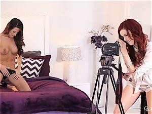 Jayden Cole tempts wonderful audition lady Kortney Kane