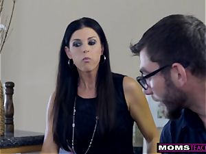 mommy smashes son-in-law And munches internal cumshot For Thanksgiving handle