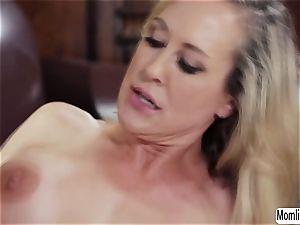 Brandi enjoy and Bella Rose gets filmed while having fucky-fucky