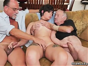 Tricky older tutor More 200 years of penis for this gorgeous dark haired!