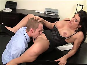 WANKZ- super-naughty mummy chief Gets pounded Until She drizzles