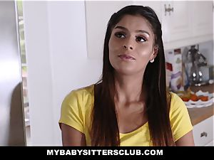 MyBabySittersClub - adorable teenage sitter bangs teacher