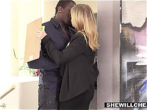 wifey Britney Amber tears up famous football players big black cock