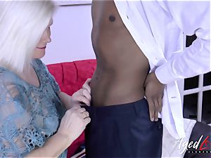 AgedLovE Lacey Starr and ebony stud gonzo