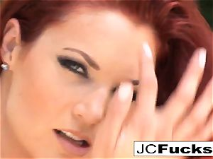 sizzling summer day with one steamy red-haired