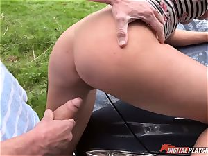 Lexi Lowe gets 3 weenies to have fun with