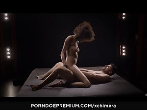 xCHIMERA - softcore fetish hump with ebony Luna Corazon
