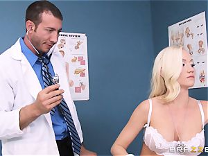 Madison Scott is perfectly cured by her messy physician