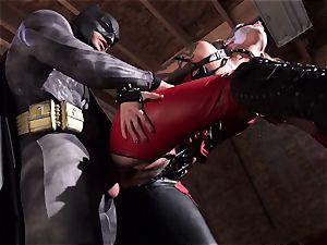 Kleio Valentien gives sloppy blow-job to a superhero