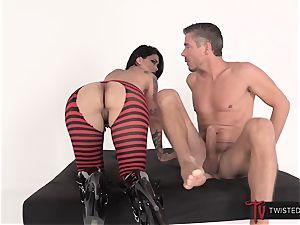 Deep buttfuck for naughty wild filthy Dana
