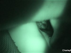 Night vision drilling with supah red-hot Charley chase