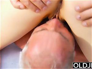 elderly young porn - nubile sport Yoga lecturer fucked rigid