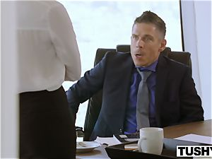 TUSHY Bree Daniels first-ever assfuck fucky-fucky gig