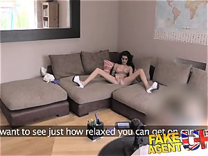 FakeAgentUK puny UK honey tries first-ever time assfuck