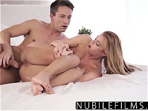 NubileFilms - sexy hook-up Makes youthfull red-haired jizm