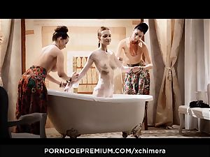 xCHIMERA - Belle Claire smoke fetish ass-fuck plow