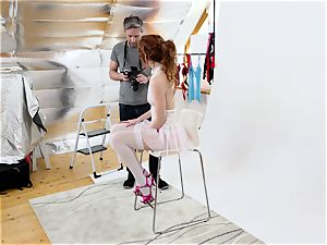 MY super-naughty ALBUM - super-fucking-hot Slovak model pulverizes camera operator