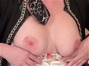 La Cochonne - red-hot puss and ass poke with French mature