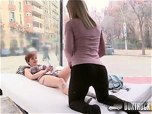 super hot lesbians Caomei Bala and Sicilia Share a wand