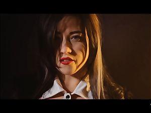 gonzo SHADES - ultra-kinky Tina Kay pounded rock-hard in three way