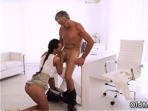blond nubile pig tails finally she s got her boss man sausage