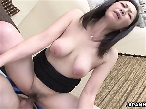 japanese wifey got her wooly honeypot plowed after a 69