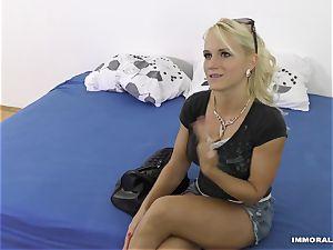 sex-positive blondie Lana Rhoades pulverized