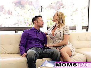 hottest of Brandi enjoy gobbling nubile daughters-in-law internal ejaculation