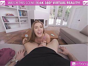 VRBangers curvy Lena Paul Get vag crammed With jizm