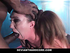 DeviantHardcore - interracial ass-fuck babe Gets predominated