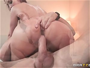 Monique Alexander filled nuts deep in her tight muffhole