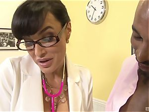 Lisa Ann jaw-dropping mummy doctor