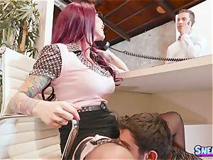 Monique Alexander - What the poke! My chief penetrates me under desk