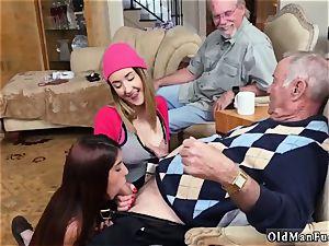 elderly bisexous duo and boy vs youthful anal Maximas Errectis