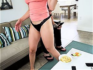 lovely girlfriend cheats like a pro with a naughty mate