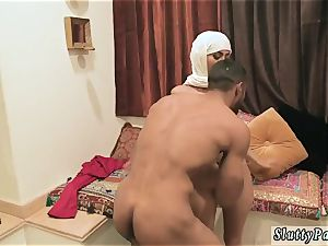 fledgling wife partner three way creampie and surprise anal bang-out warm arab femmes try