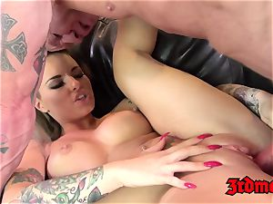 Christy Mack inked, torn up, and finished