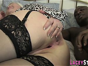 Lacey Starr boinked rock hard in the caboose
