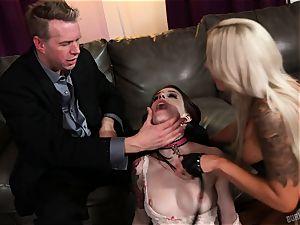 booty orgy with Nina Elle and Anna De Ville
