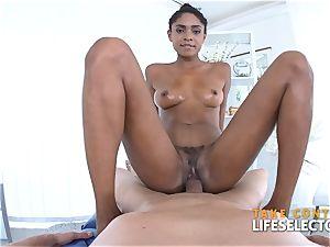 Luna Corazon - bi-racial Shool nail