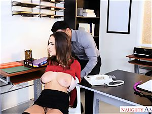Ashley Adams found roped up well-prepped for a pulverizing